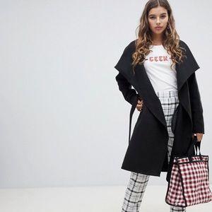 ASOS lapel coat